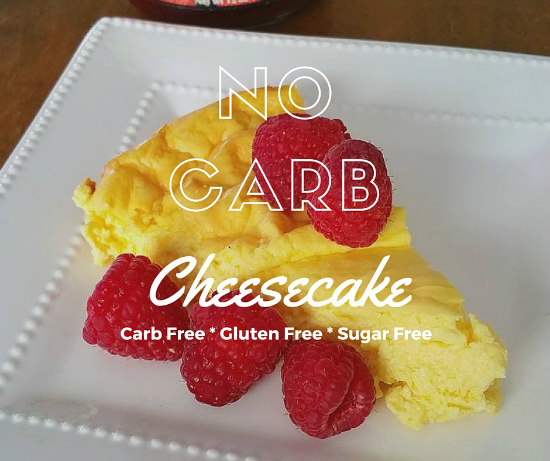 No Carb Cheesecake