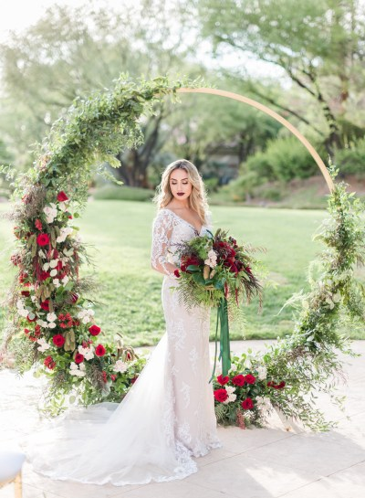 Holiday Wedding Shoot