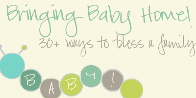 30+ Ways to Bless a New Family