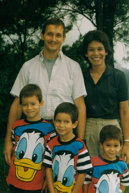 Mike and Renee Dawson family