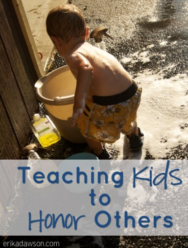 Teaching Kids to Honor Others