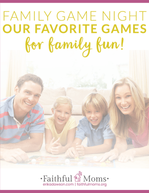 great family games -- we love #3 the best!!