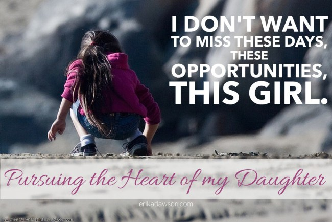 Pursuing the Heart of my Daughter