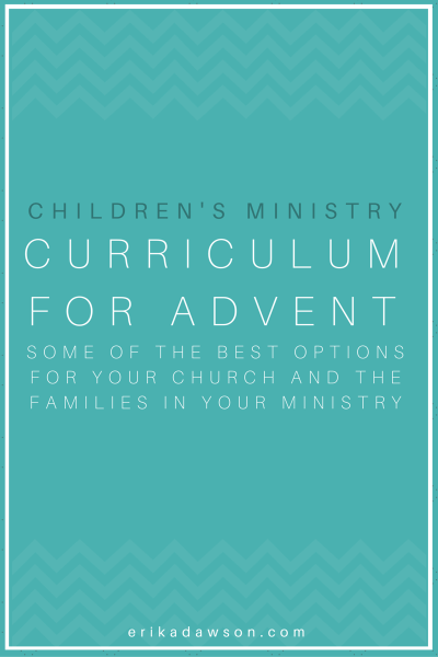 Kids Advent Resources for Children's Ministry