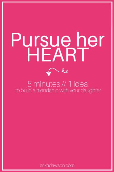 pursue her heart