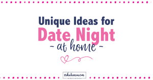 married couples fun date night at home options