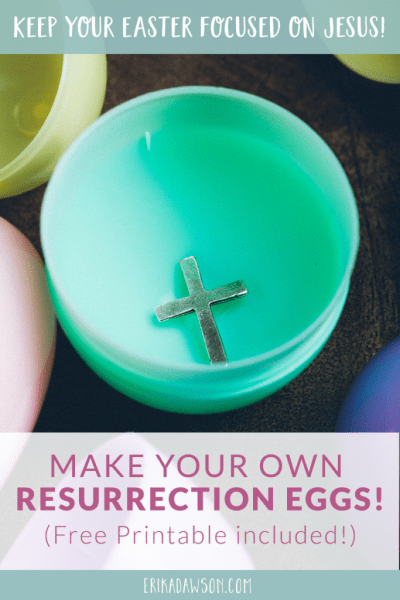 so helpful to make our own resurrection eggs