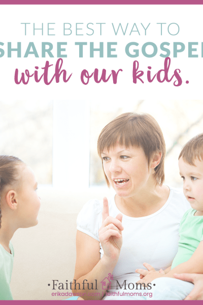 How Parents can Share the Gospel with their Kids