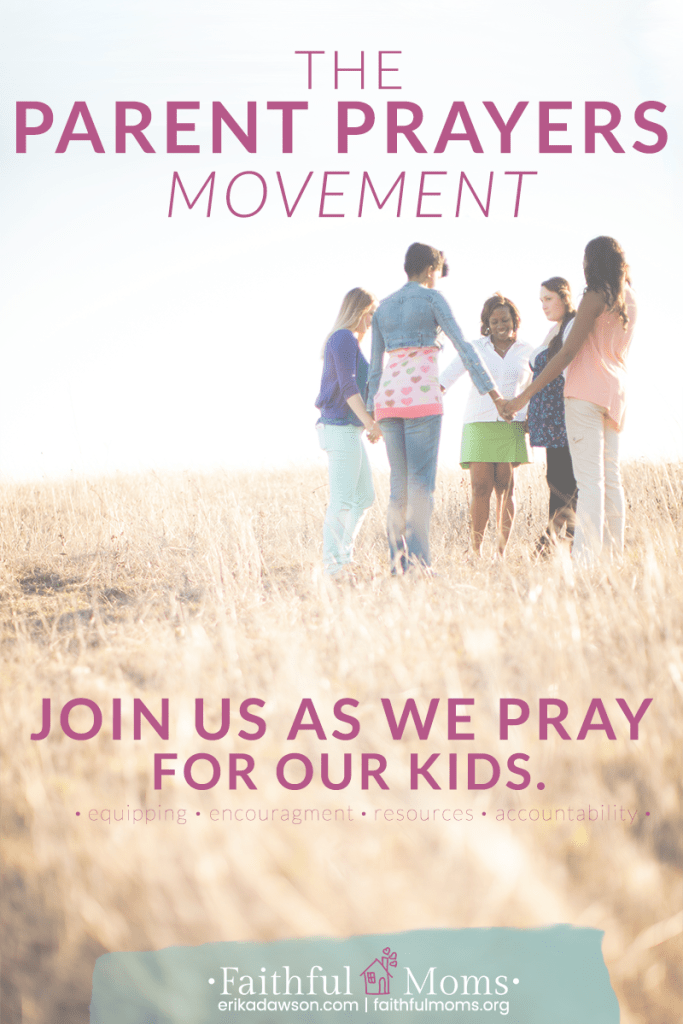 this is SO HELPFUL to actually get me PRAYING FOR MY KIDS // Parent Prayers Movement