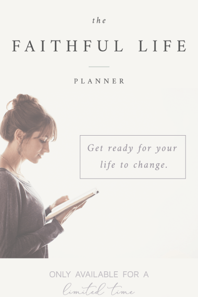 can.not.WAIT for this planner :: Faithful Life Planner