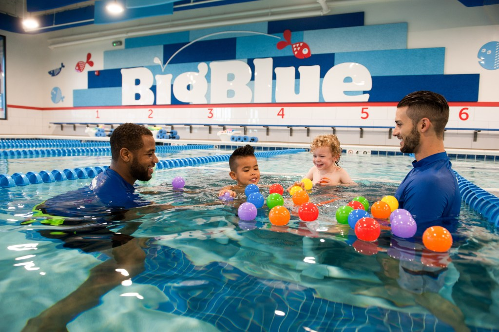 Big Blue Swim School sets the standard for kids' swim lessons!!