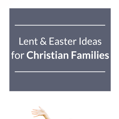 We're doing #1 this year!! // GREAT Lent Ideas for Christian families
