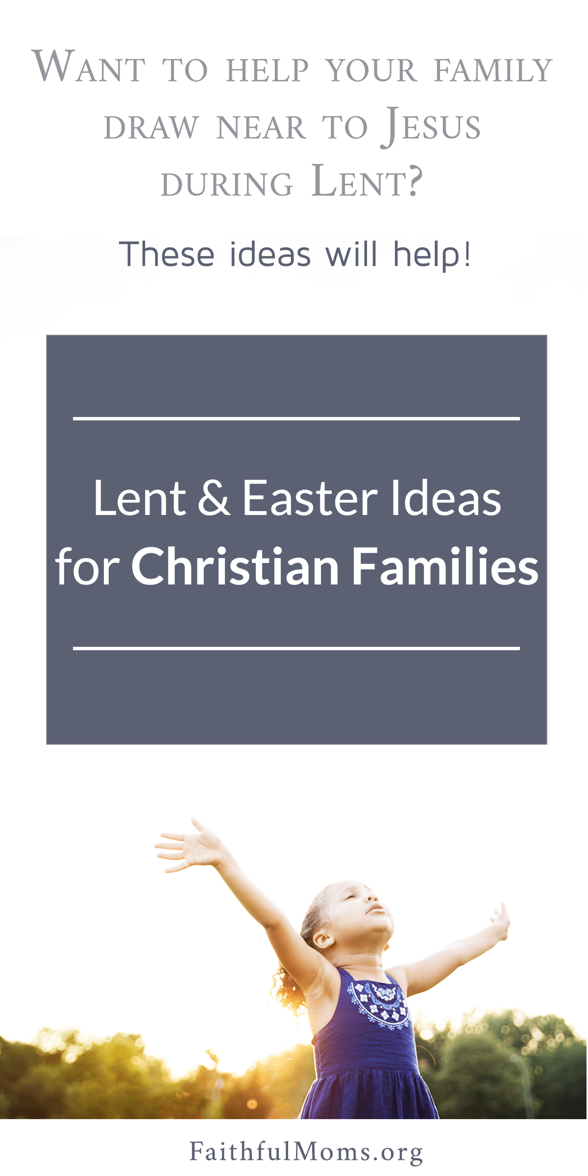 We're doing #1 this year!! // GREAT Lent Ideas for Christian families via @FaithfulMoms