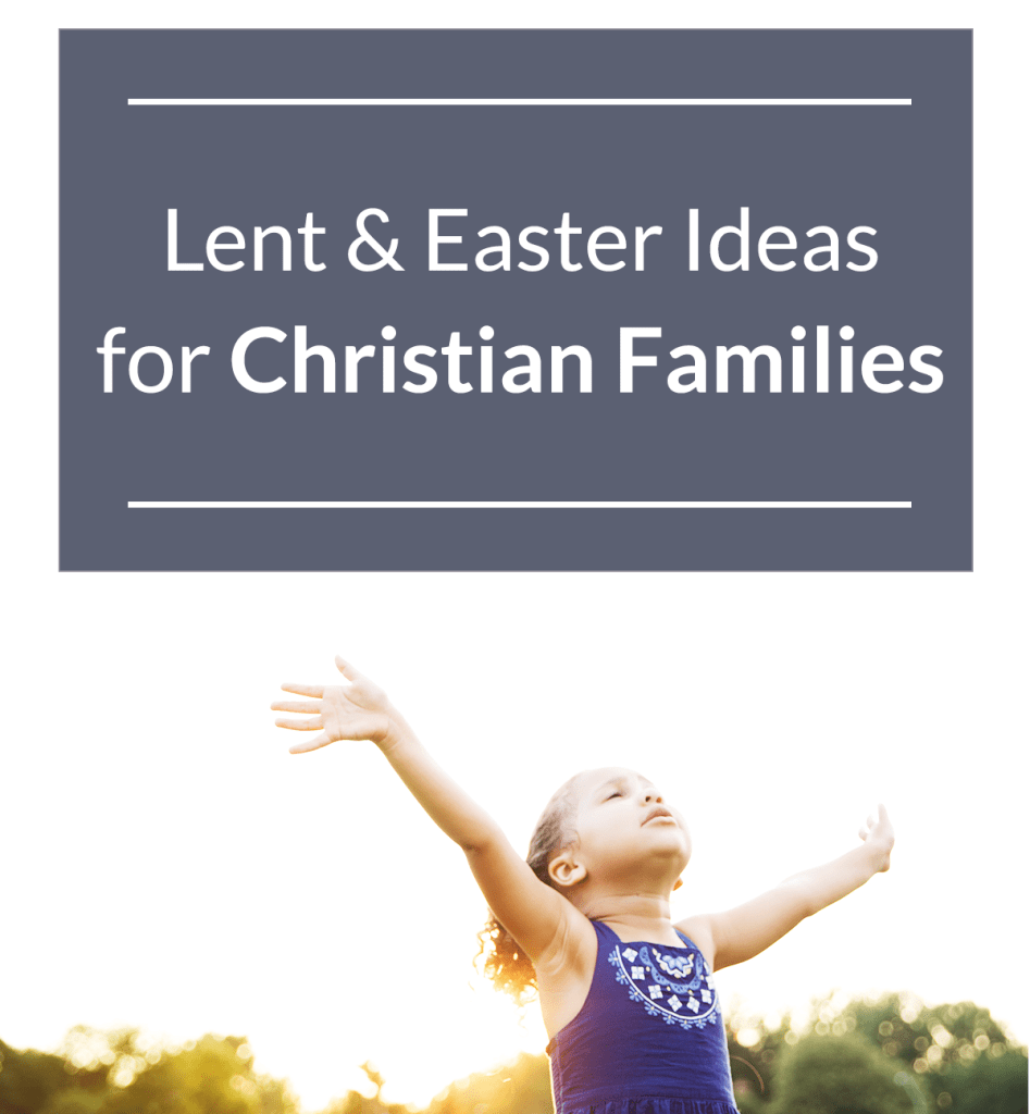 Definitely doing some of these for Lent this year // Jesus-focused Lent & Easter ideas for families