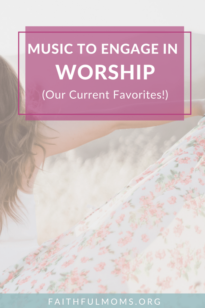 love these choices for worship music for moms  and to have playing at home #Worship #WorshipMusic #FaithatHome