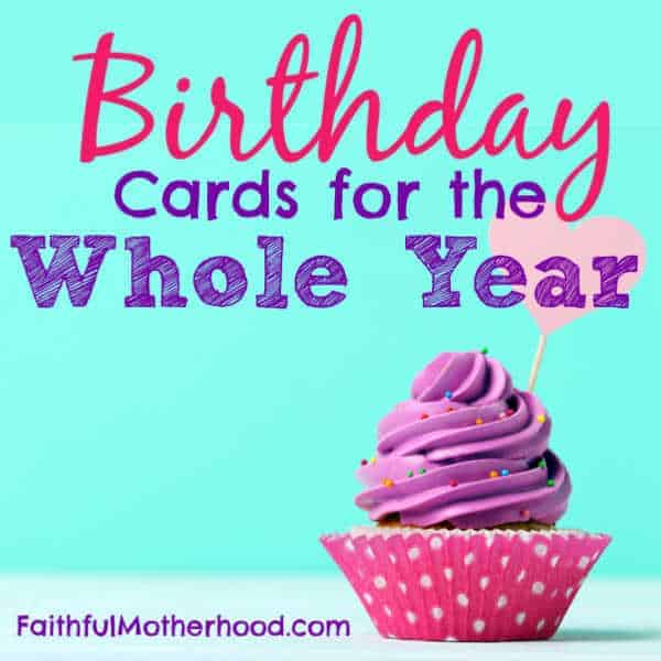 Gifts & Birthday Cards for the Whole Year