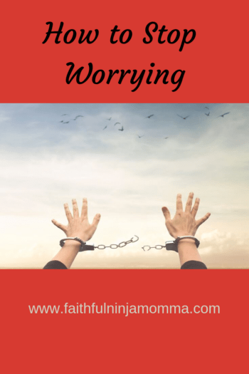 How to Stop Worrying- For Good