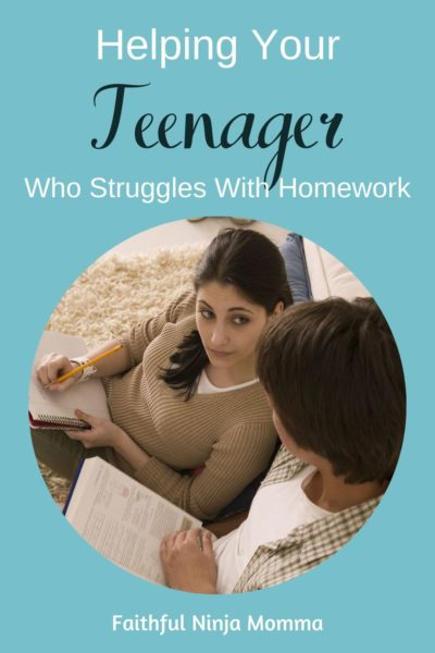 Help Your Teen Who is Struggling With School