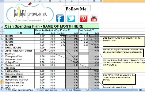 February Planning - Free Printable Calendar, Budgeting Worksheet and ...