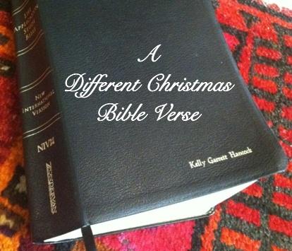 Verses For Christmas Christmas Tree Bible Verse Christian