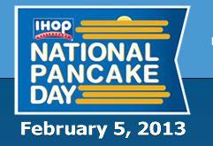 IHOP National Pancake Day