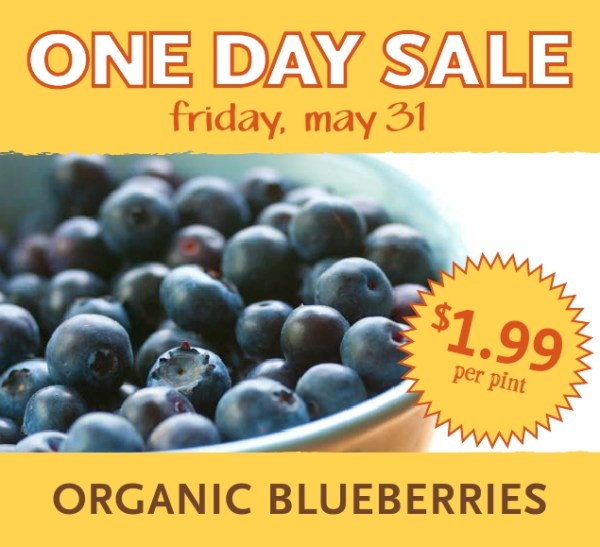 Whole Foods Organic Blueberries Only 199Pint Today