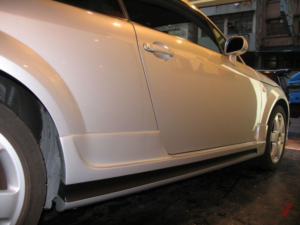 medium resolution of audi 2000 04 tt mk1 m style body kit