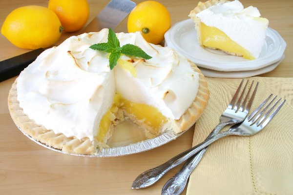 Grandma's Lemon Meringue Pie | Faith, Hope, Love, and Luck Survive Despite a Whiskered Accomplice