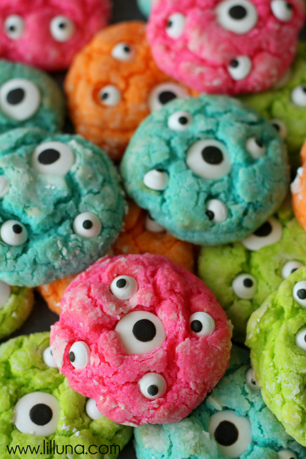 Gooey Monster Cookies | Faith, Hope, Love, and Luck Survive Despite a Whiskered Accomplice