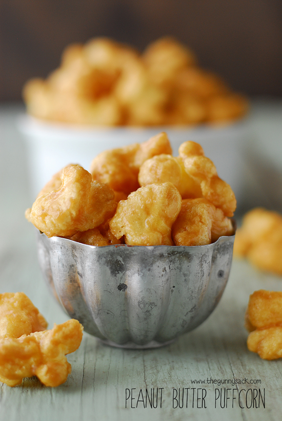 Peanut Butter Puffcorn | Faith, Hope, Love and Luck Survive Despite a Whiskered Accomplice