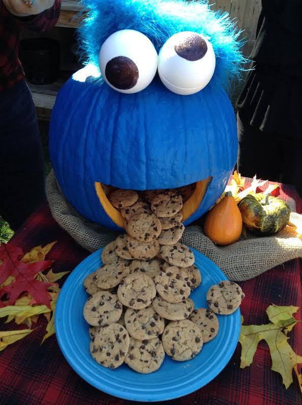 Pumpkin Cookie Monster | Faith, Hope, Love, and Luck Survive Despite a Whiskered Accomplice