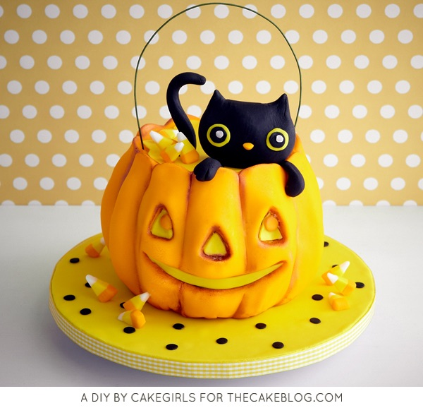 Kitty Cat in a Pumpkin Cake | Faith, Hope, Love, and Luck a Survive Despite a Whiskered Accomplice