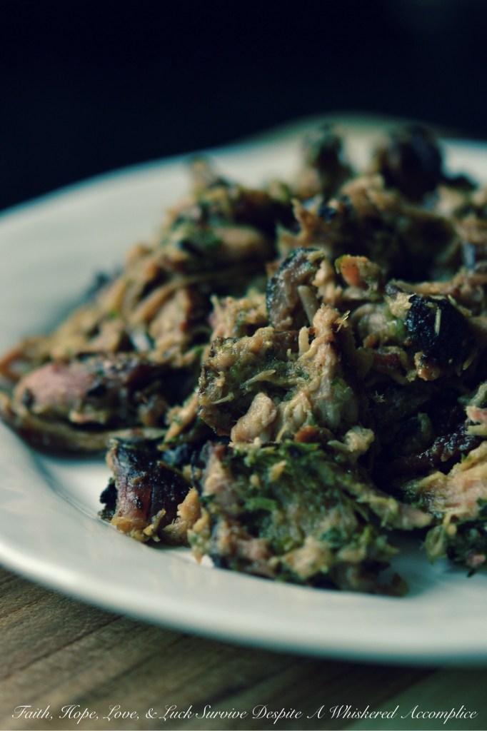 Lechon Asada Pork BBQ Sauce | Faith, Hope, Love, and Luck Survive Despite a Whiskered Accomplice