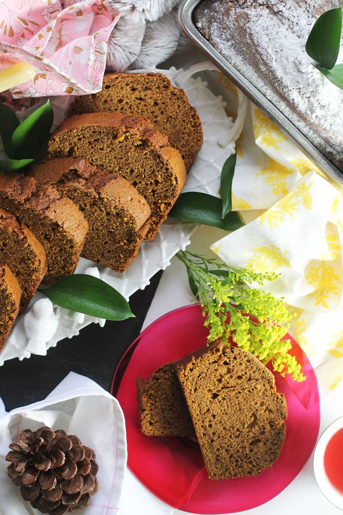 The Best Pumpkin Bread Recipe Ever | Faith, Hope, Love, and Luck Survive Despite a Whiskered Accomplice