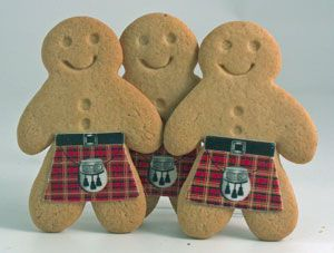 Scottish Gingerbread Men | Faith, Hope, Love, and Luck Survive Despite a Whiskered Accomplice
