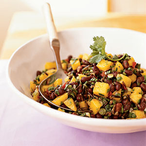 Mango and Black Bean Salad | Faith, Hope, Love, and Luck Survive Despite a Whiskered Accomplice