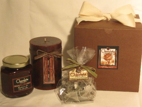 Chocolate Gift Box | Faith, Hope, Love, and Luck Survive Despite a Whiskered Accomplice