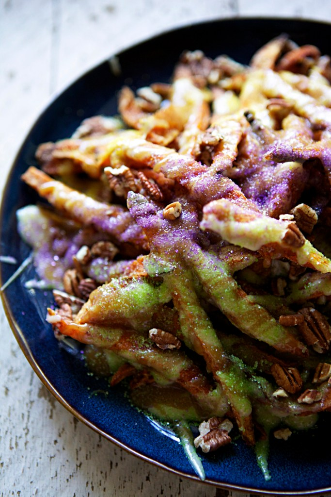 King Cake Fries | Faith, Hope, Love, and Luck Survive Despite a Whiskered Accomplice