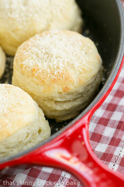 Buttermilk Goat Cheese Biscuits | Faith, Hope, Love, and Luck Survive Despite a Whiskered Accomplice