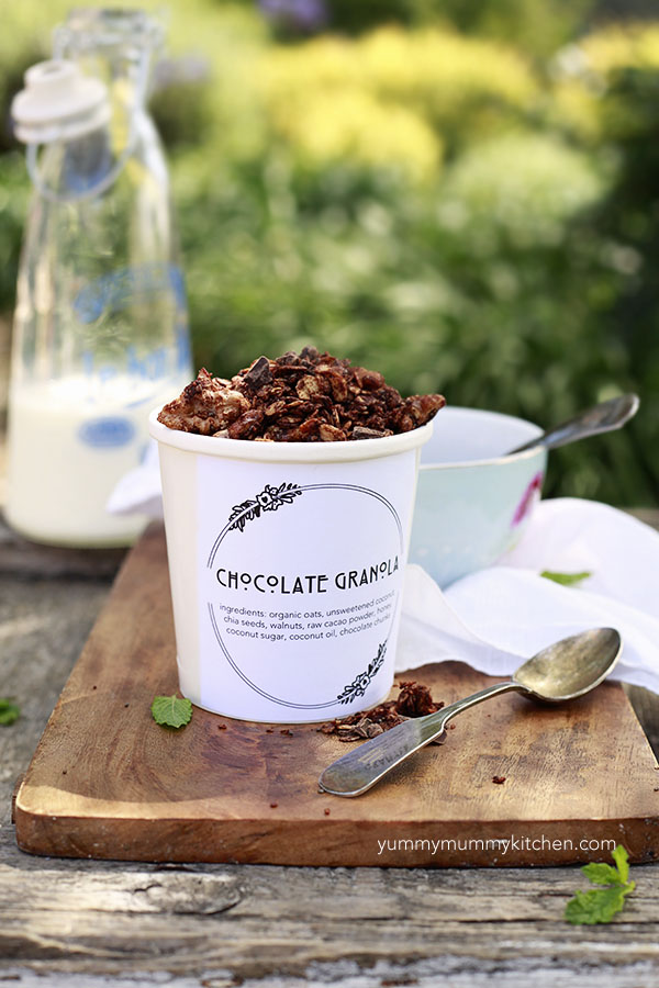 Chocolate Granola | Faith, Hope, Love, and Luck Survive Despite a Whiskered Accomplice