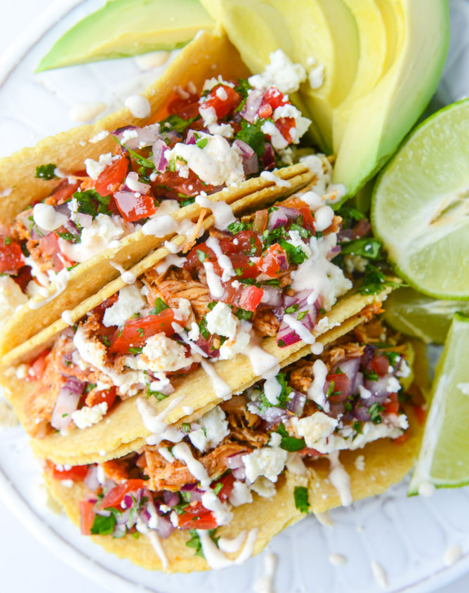 Easy Weeknight Chicken Tacos | Faith, Hope, Love, and Luck Survive Despite a Whiskered Accomplice