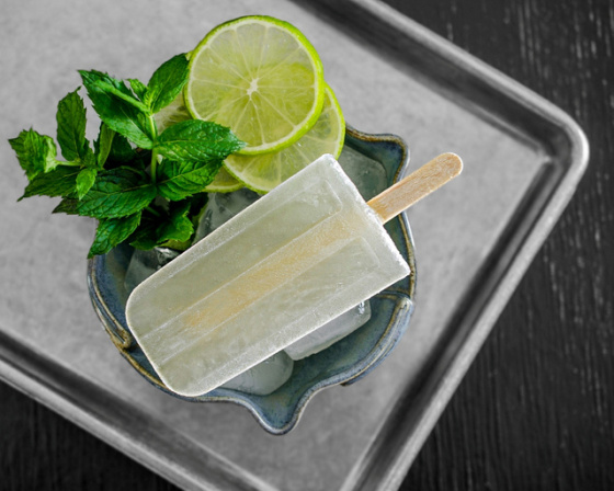 Mojito Popsicles | Faith, Hope, Love, and Luck Surive Despite a Whiskered Accomplice