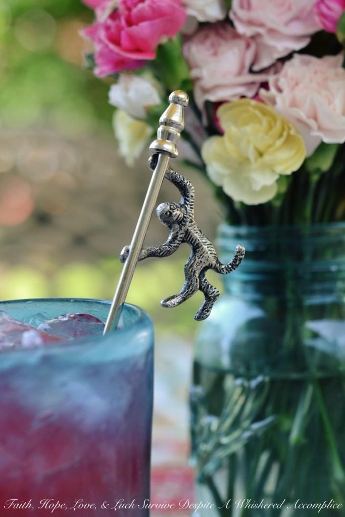 Blackberry Lemonade Vodka Tonics | Faith, Hope, Love, and Luck Survive Despite a Whiskered Accomplice