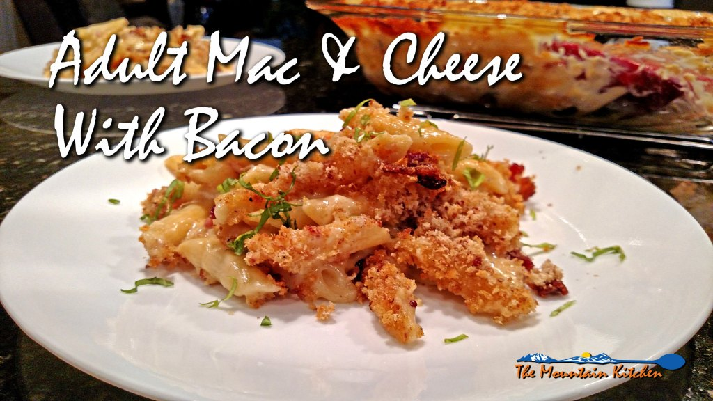 Adult Mac and Cheese with Bacon | Faith, Hope, Love, and Luck Survive Despite a Whiskered Accomplice
