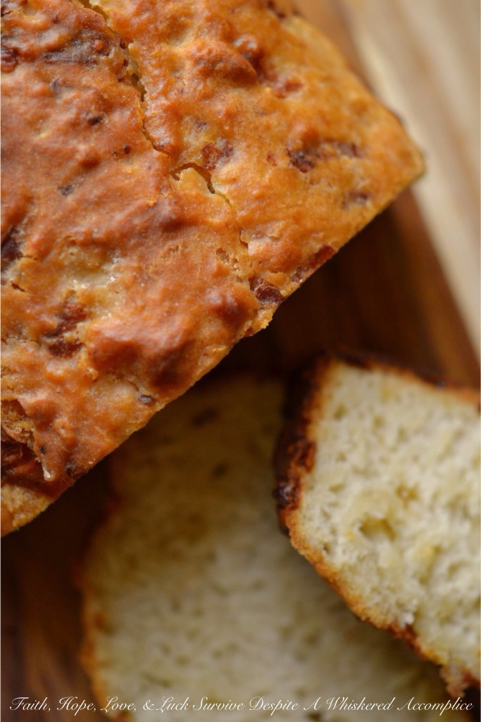 Mexican Beer Bread | Faith, Hope, Love, and Luck Survive Despite a Whiskered Accomplice
