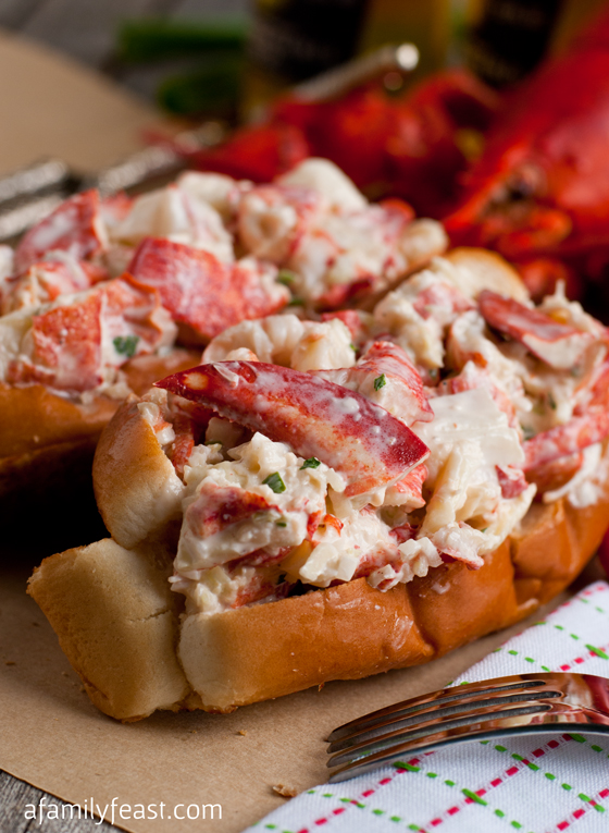New England Lobster Roll | Faith, Hope, Love, and Luck Survive Despite a Whiskered Accomplice