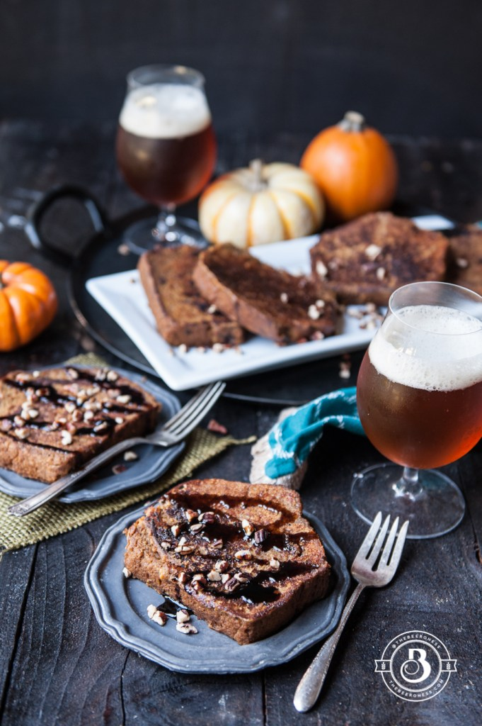 Pumpkin Beer Bread French Toast | Faith, Hope, Love, and Luck Survive Despite a Whiskered Accomplice