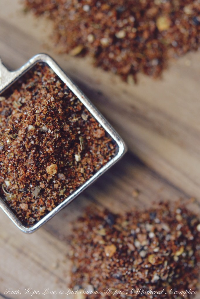 Homemade Taco Seasoning | Faith, Hope, Love, and Luck Survive Despite a Whiskered Accomplice
