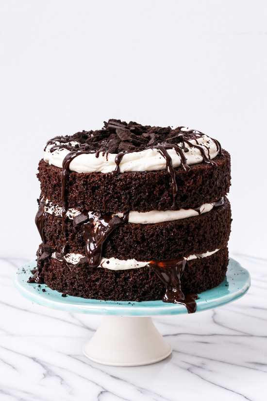 Kentucky Mudslide Cake | Faith, Hope, Love, and Luck Survive Despite a Whiskered Accomplice
