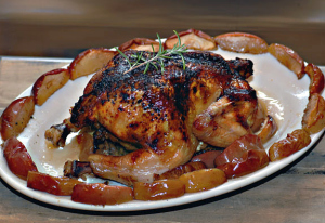 Rosemary Apple Chicken Recipe | Faith, Hope, Love, and Luck Survive Despite a Whiskered Accomplice